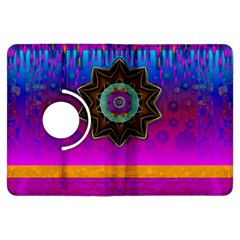 Air And Stars Global With Some Guitars Pop Art Kindle Fire HDX Flip 360 Case
