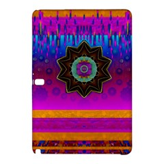 Air And Stars Global With Some Guitars Pop Art Samsung Galaxy Tab Pro 10.1 Hardshell Case
