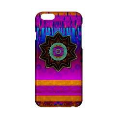 Air And Stars Global With Some Guitars Pop Art Apple iPhone 6/6S Hardshell Case