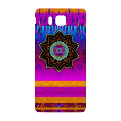Air And Stars Global With Some Guitars Pop Art Samsung Galaxy Alpha Hardshell Back Case