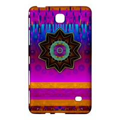 Air And Stars Global With Some Guitars Pop Art Samsung Galaxy Tab 4 (8 ) Hardshell Case