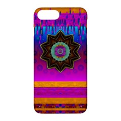 Air And Stars Global With Some Guitars Pop Art Apple iPhone 7 Plus Hardshell Case