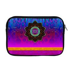 Air And Stars Global With Some Guitars Pop Art Apple MacBook Pro 17  Zipper Case