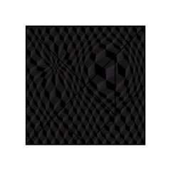 Black Pattern Dark Texture Background Acrylic Tangram Puzzle (4  X 4 )