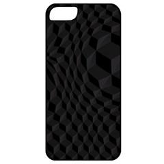 Black Pattern Dark Texture Background Apple Iphone 5 Classic Hardshell Case