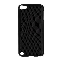 Black Pattern Dark Texture Background Apple iPod Touch 5 Case (Black)
