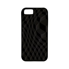 Black Pattern Dark Texture Background Apple iPhone 5 Classic Hardshell Case (PC+Silicone)
