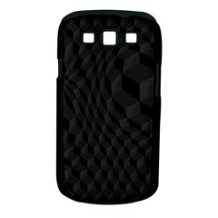 Black Pattern Dark Texture Background Samsung Galaxy S III Classic Hardshell Case (PC+Silicone)