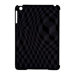 Black Pattern Dark Texture Background Apple iPad Mini Hardshell Case (Compatible with Smart Cover)