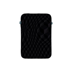 Black Pattern Dark Texture Background Apple iPad Mini Protective Soft Cases