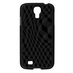 Black Pattern Dark Texture Background Samsung Galaxy S4 I9500/ I9505 Case (black)