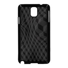 Black Pattern Dark Texture Background Samsung Galaxy Note 3 Neo Hardshell Case (black)