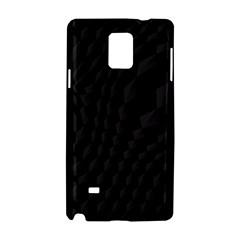Black Pattern Dark Texture Background Samsung Galaxy Note 4 Hardshell Case