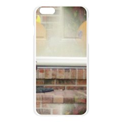 Ghostly Floating Pumpkins Apple Seamless iPhone 6 Plus/6S Plus Case (Transparent)