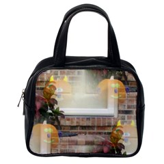 Ghostly Floating Pumpkins Classic Handbags (One Side)