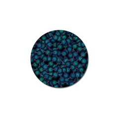 Background Abstract Textile Design Golf Ball Marker
