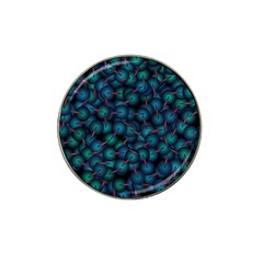 Background Abstract Textile Design Hat Clip Ball Marker (4 Pack)