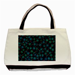 Background Abstract Textile Design Basic Tote Bag (Two Sides)