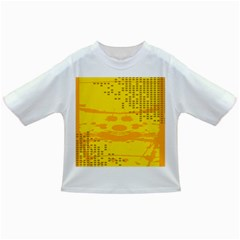 Texture Yellow Abstract Background Infant/Toddler T-Shirts