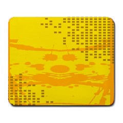 Texture Yellow Abstract Background Large Mousepads