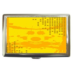 Texture Yellow Abstract Background Cigarette Money Cases