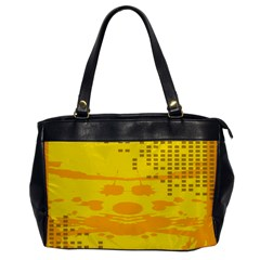 Texture Yellow Abstract Background Office Handbags