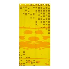 Texture Yellow Abstract Background Shower Curtain 36  x 72  (Stall)