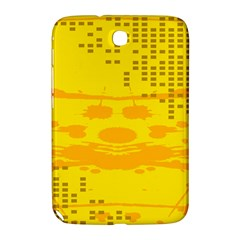 Texture Yellow Abstract Background Samsung Galaxy Note 8.0 N5100 Hardshell Case