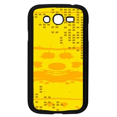 Texture Yellow Abstract Background Samsung Galaxy Grand Duos I9082 Case (black)