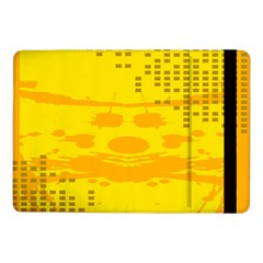 Texture Yellow Abstract Background Samsung Galaxy Tab Pro 10.1  Flip Case