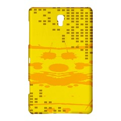 Texture Yellow Abstract Background Samsung Galaxy Tab S (8.4 ) Hardshell Case