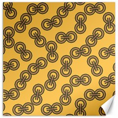 Abstract Shapes Links Design Canvas 12  x 12