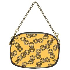 Abstract Shapes Links Design Chain Purses (one Side)