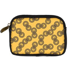 Abstract Shapes Links Design Digital Camera Cases