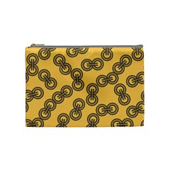 Abstract Shapes Links Design Cosmetic Bag (medium)