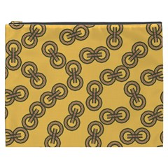 Abstract Shapes Links Design Cosmetic Bag (XXXL)