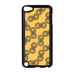 Abstract Shapes Links Design Apple Ipod Touch 5 Case (black)