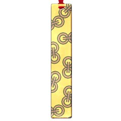 Abstract Shapes Links Design Large Book Marks