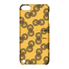 Abstract Shapes Links Design Apple Ipod Touch 5 Hardshell Case With Stand