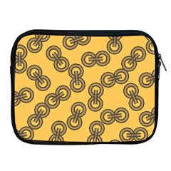 Abstract Shapes Links Design Apple Ipad 2/3/4 Zipper Cases