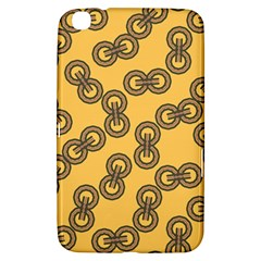 Abstract Shapes Links Design Samsung Galaxy Tab 3 (8 ) T3100 Hardshell Case