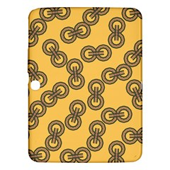 Abstract Shapes Links Design Samsung Galaxy Tab 3 (10 1 ) P5200 Hardshell Case