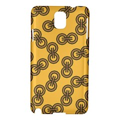 Abstract Shapes Links Design Samsung Galaxy Note 3 N9005 Hardshell Case