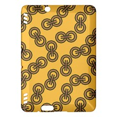 Abstract Shapes Links Design Kindle Fire Hdx Hardshell Case