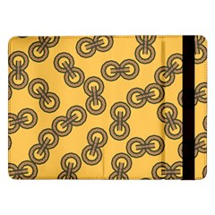 Abstract Shapes Links Design Samsung Galaxy Tab Pro 12 2  Flip Case