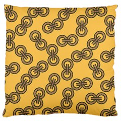 Abstract Shapes Links Design Standard Flano Cushion Case (two Sides)