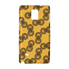 Abstract Shapes Links Design Samsung Galaxy Note 4 Hardshell Case