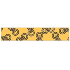Abstract Shapes Links Design Flano Scarf (large)