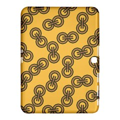 Abstract Shapes Links Design Samsung Galaxy Tab 4 (10.1 ) Hardshell Case