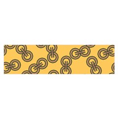 Abstract Shapes Links Design Satin Scarf (Oblong)